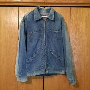 Vintage 50s Oshkosh Denim Chore Jacket X Large